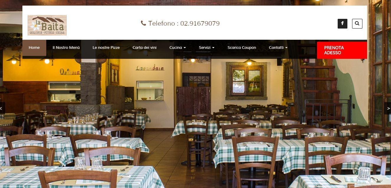 La baita ristorante cucina tipica di montagna varese for La cucina di altamura varese