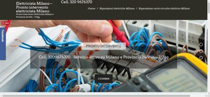 Elettricista Milano – Pronto intervento elettricista milano