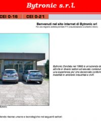 Bytronic s.r.l – Sistemi e componenti per impianti industriali e civili