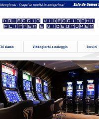 Games Srl – Noleggio videogiochi