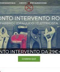 Pronto Intervento Roma – 24h su 24 – Fabbro Idraulico Elettricista