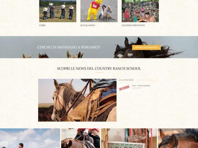 Country Ranch School – Scuola di equitazione per bambini Bergamo