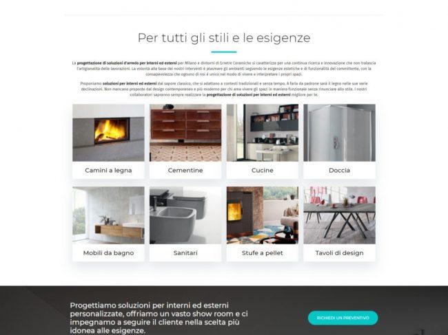 Erretre Ceramiche – Progettazione soluzioni per interni ed esterni Milano