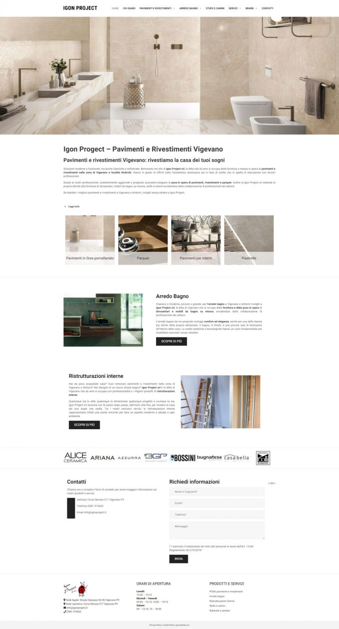 Igon Project – Pavimenti e rivestimenti Vigevano