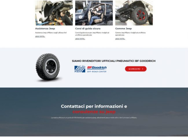 LaRossa 4×4 – Officina specializzata Jeep Milano