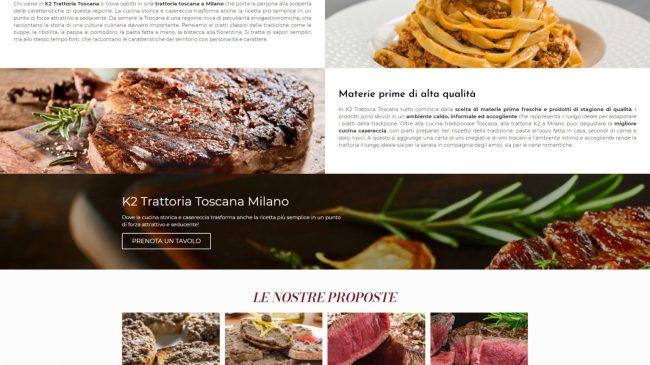 Trattoria K2 – Ristorante Toscano Milano